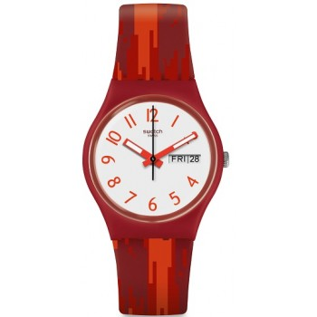 Orologio Swatch Red Flame