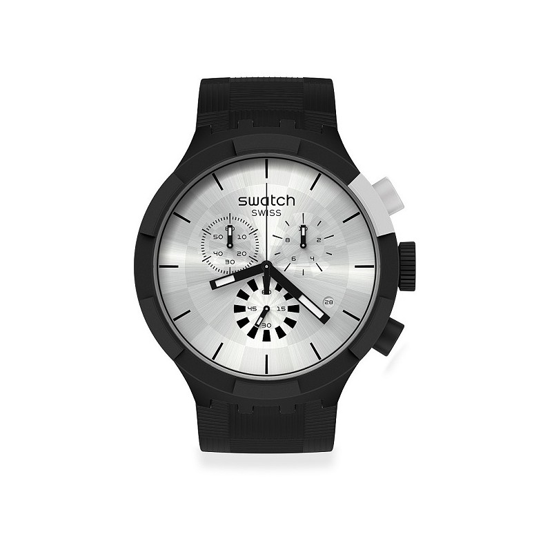 Orologio Swatch Chequered Silver