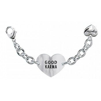 Bracciale 2Jewels donna acciaio Together Positive Energy cuore