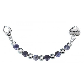 Bracciale 2Jewels donna acciaio single sodalite Together Happyness